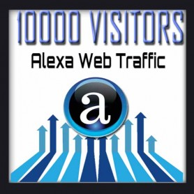 ALEXA WEB TRAFFIC - 10000 VISITORS - Boost Alexa Rank