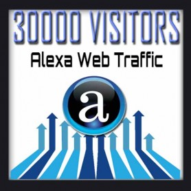 ALEXA WEB TRAFFIC - 30000 VISITORS - Boost Alexa Rank