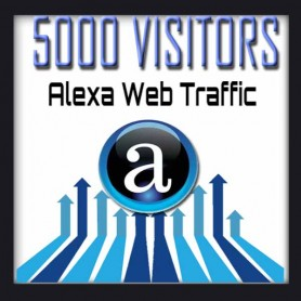 ALEXA WEB TRAFFIC - 5000 VISITORS - Boost Alexa Rank