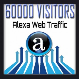 ALEXA WEB TRAFFIC - 60000 VISITORS - Boost Alexa Rank
