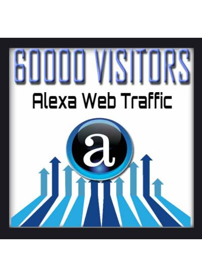 ALEXA WEB TRAFFIC - 60000 VISITORS - Boost Alexa Rank