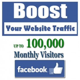 SOCIAL WEB TRAFFIC - FACEBOOK VISITORS to YOUR WEBSITE