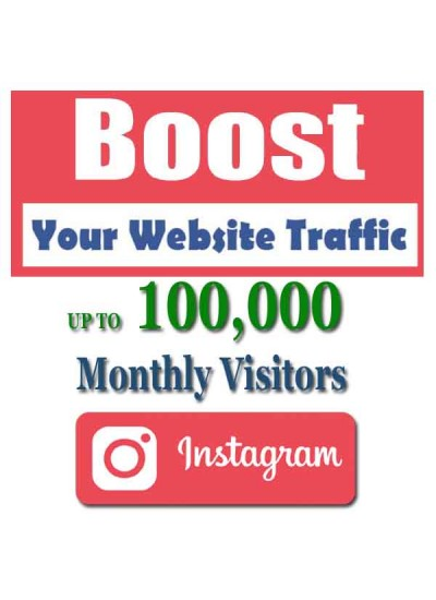 SOCIAL WEB TRAFFIC - INSTAGRAM VISITORS to YOUR WEBSITE