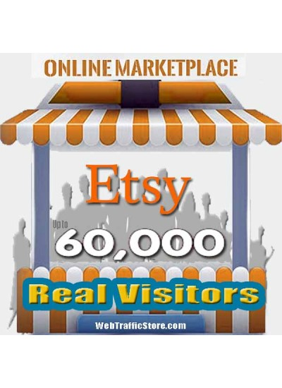 MARKETPLACE WEB TRAFFIC - ETSY VISITORS to YOUR PRODUCT LISTINGS