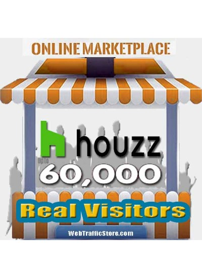 MARKETPLACE WEB TRAFFIC - HOUZZ VISITORS to YOUR PRODUCT LISTINGS