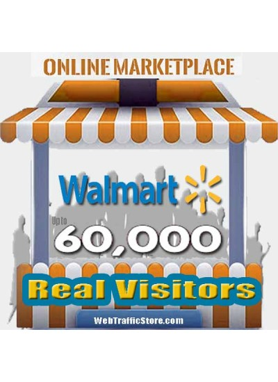 MARKETPLACE WEB TRAFFIC - WALMART VISITORS to YOUR PRODUCT LISTINGS
