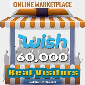 MARKETPLACE WEB TRAFFIC - WISH VISITORS to YOUR PRODUCT LISTINGS