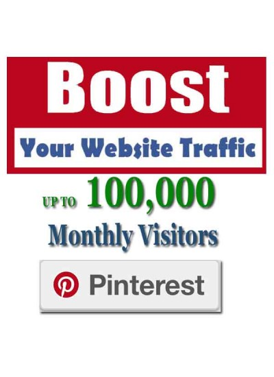 SOCIAL WEB TRAFFIC - PINTEREST VISITORS to YOUR WEBSITE