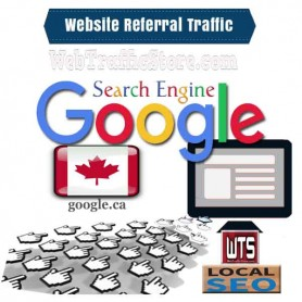 REFERRAL WEB TRAFFIC - GOOGLE SEARCH ENGINE of CANADA  VISITORS to YOUR WEBSITE