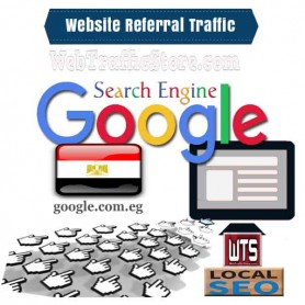 REFERRAL WEB TRAFFIC - GOOGLE SEARCH ENGINE of EGYPT  VISITORS to YOUR WEBSITE