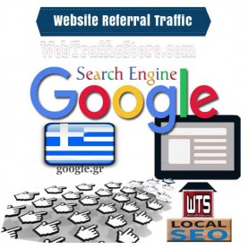 REFERRAL WEB TRAFFIC - GOOGLE SEARCH ENGINE of GREECE  VISITORS to YOUR WEBSITE