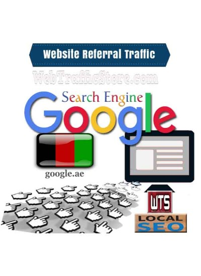 REFERRAL WEB TRAFFIC - GOOGLE SEARCH ENGINE of UNITED ARAB EMIRATES  VISITORS to YOUR WEBSITE