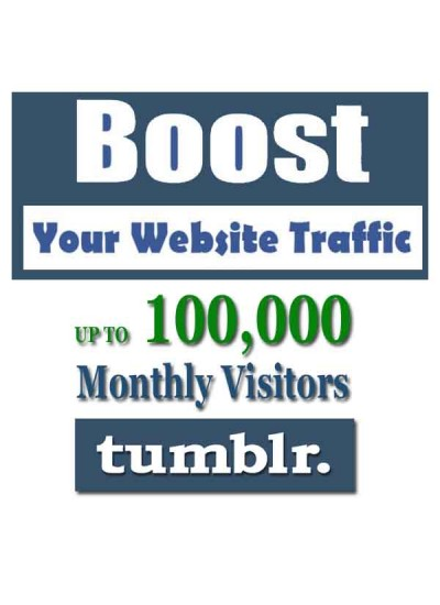 SOCIAL WEB TRAFFIC - TUMBLR VISITORS to YOUR WEBSITE