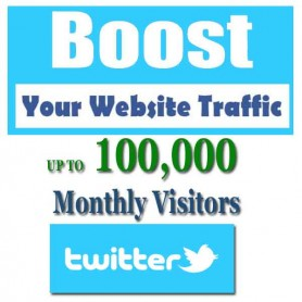 SOCIAL WEB TRAFFIC - TWITTER VISITORS to YOUR WEBSITE